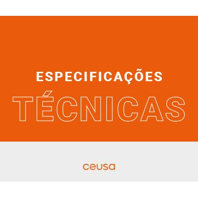 MANUAL DE ESPECIFICAÇÕES TÉCNICAS